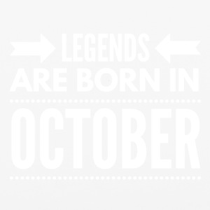 Legends Born October - iPhone 6/6s Rubber Case