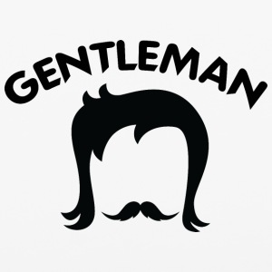 GENTLEMAN_7_black - iPhone 6/6s Rubber Case