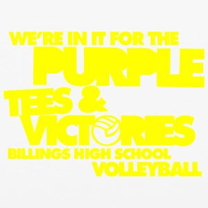 We're In It For The Purple Tees & Victories Billin - iPhone 6/6s Rubber Case
