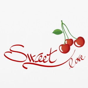 sweet love cherry - iPhone 6/6s Rubber Case