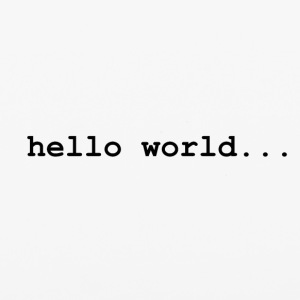 hello world.. - iPhone 6/6s Rubber Case