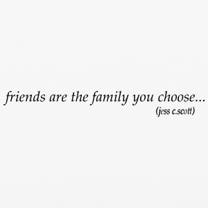 friends are the family you choose - iPhone 6/6s Rubber Case