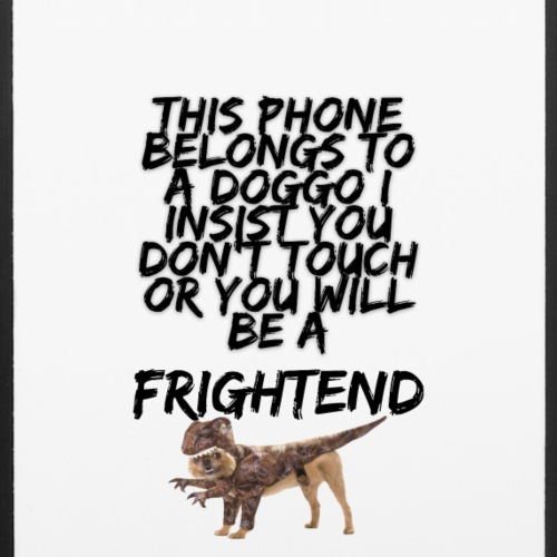 Doggo Giv Frightend case - iPhone 6/6s Rubber Case
