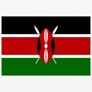kenyan flag graphic - iPhone 6/6s Rubber Case