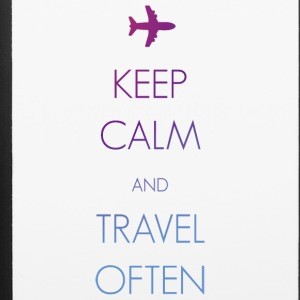 Keep calm and travel often - iPhone 6/6s Rubber Case