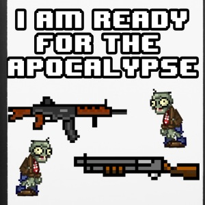 Ready For The Apocalypse 8-Bit - iPhone 6/6s Rubber Case