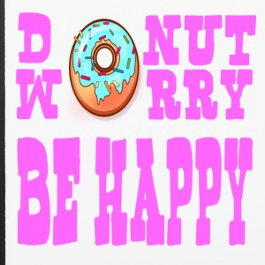 Donut Worry Be Happy - iPhone 6/6s Rubber Case