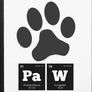 Periodic Elements: PaW - iPhone 6/6s Rubber Case