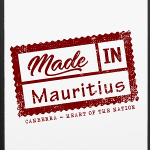 Stamp Made in Mauritius - Canberra - iPhone 6/6s Rubber Case