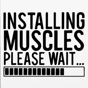 INSTALLING MUSCLES PLEASE WAIT - iPhone 6/6s Rubber Case