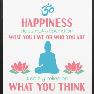 Buddhism - Happiness is not what you have - iPhone 6/6s Rubber Case
