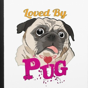 loved by pug - iPhone 6/6s Rubber Case