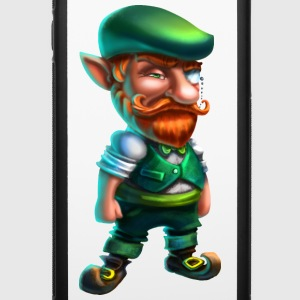 Leprechaun hipster - iPhone 6/6s Rubber Case