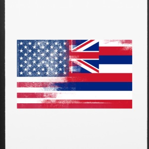 Hawaii American Flag Fusion - iPhone 6/6s Rubber Case