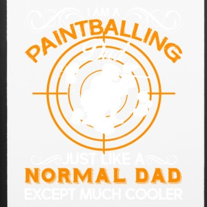 Paintballing Dad Shirt - iPhone 6/6s Rubber Case