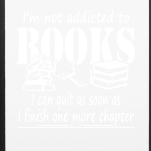 Addicted To Books Tee Shirt - iPhone 6/6s Rubber Case
