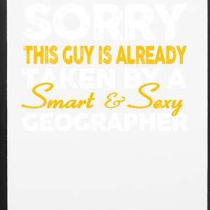 Smart And Sexy Geographer T Shirt - iPhone 6/6s Rubber Case