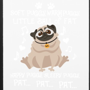 Soft Warm Little Ball Of Fat Happy Puggy T Shirt - iPhone 6/6s Rubber Case