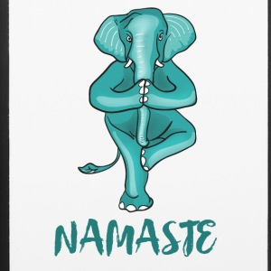 yoga elefant namaste shiva meditation funny humor - iPhone 6/6s Rubber Case