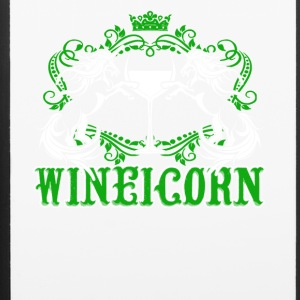 Wine And Unicorn Tee Shirt - iPhone 6/6s Rubber Case