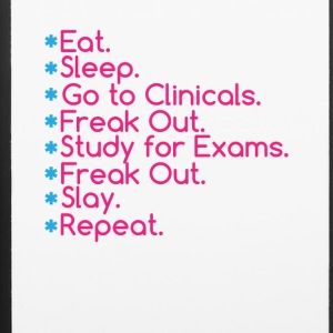 Eat Sleep Go To Clinical' Nursing Student Tee Shir - iPhone 6/6s Rubber Case