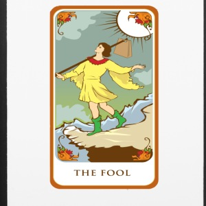 The Fool Tarot Card Tee Shirt - iPhone 6/6s Rubber Case