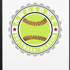 Symbol of an Awesome Softball Player - iPhone 6/6s Rubber Case
