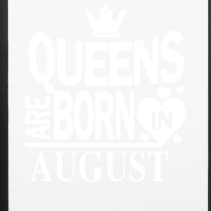 Birthday Shirt - Queen are born in AUGUST - iPhone 6/6s Rubber Case
