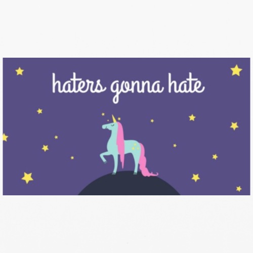 haters gonna hate iPhone case - iPhone 6/6s Rubber Case