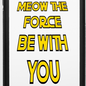 Meow The Force Be With You2 - iPhone 6/6s Rubber Case
