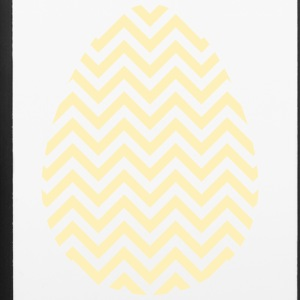 Gold Easter Egg Chevron - iPhone 6/6s Rubber Case