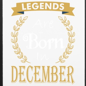 Legend Are Born In December - iPhone 6/6s Rubber Case