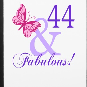 44 and Fabulous - iPhone 6/6s Rubber Case