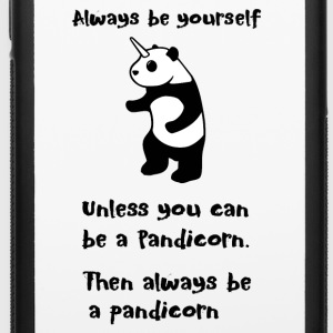 Always be Yourself Panda Pandicorn Funny - iPhone 6/6s Rubber Case