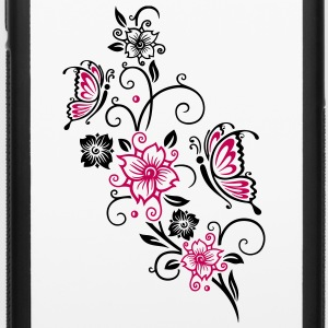 Cherry blossoms with butterflies - iPhone 6/6s Rubber Case