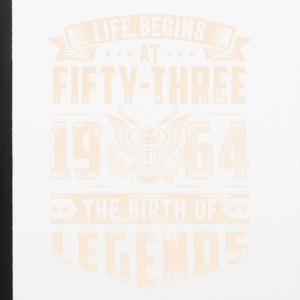 Life Begins At Fifty Three Tshirt - iPhone 6/6s Rubber Case