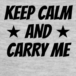 Keep Calm And Carry Me - Baby Contrast One Piece