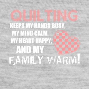 Quilting - Family love shirt - Baby Contrast One Piece