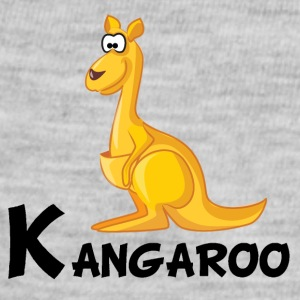 Cartoon Kangaroo - Baby Contrast One Piece