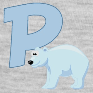 P Is For Polar Bear - Baby Contrast One Piece