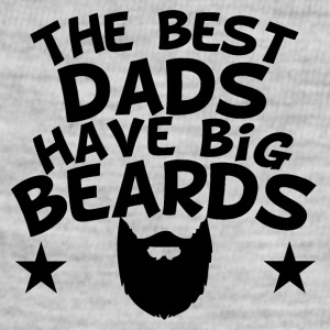 The Best Dads Have Big Beards - Baby Contrast One Piece