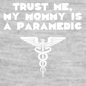 Trust Me My Mommy Is A Paramedic - Baby Contrast One Piece