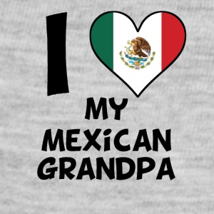 I Heart My Mexican Grandpa - Baby Contrast One Piece