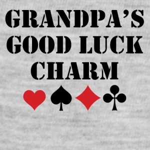 Grandpa's Good Luck Charm - Baby Contrast One Piece