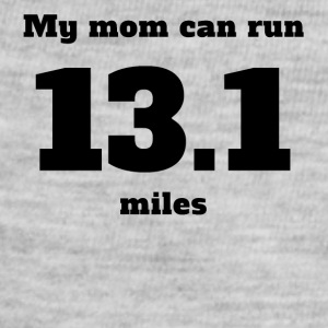 My Mom Can Run 13.1 Miles - Baby Contrast One Piece