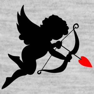 cupid-wings-heart-bow-shape-love - Baby Contrast One Piece