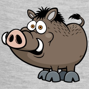 wild-boar-animal-wildlife-smile-pig - Baby Contrast One Piece