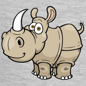 rhinoceros-wildlife-animal-smiling - Baby Contrast One Piece