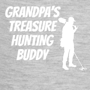 Grandpa's Treasure Hunting Buddy - Baby Contrast One Piece