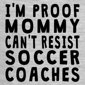Proof Mommy Can't Resist Soccer Coaches - Baby Contrast One Piece